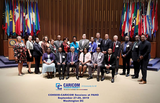 CARICOM Ministers of Health.